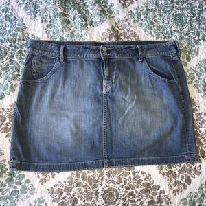 Old Navy denim stretchy skirt